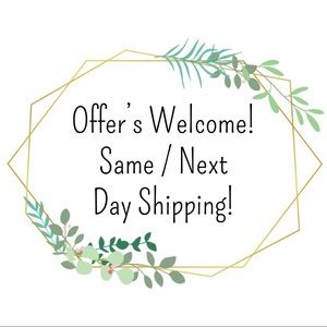 Offer's Welcome! Same / Next Day Shipping.